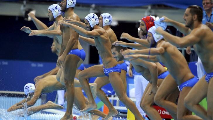 Olimpiadi, Pallanuoto: Settebello, la medaglia vale 2,10