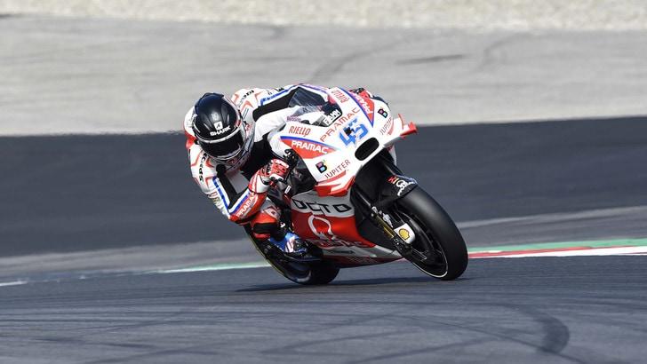 MotoGp Brno, Redding vola nel warm up