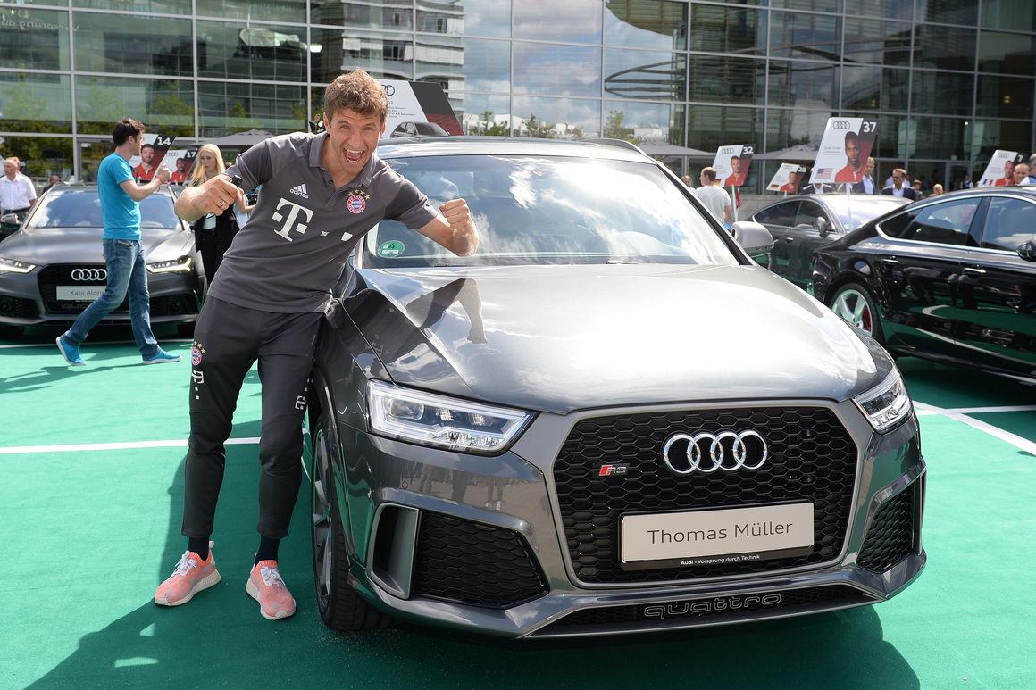 Una flotta di Audi RS6 e RS7 per Ancelotti e il Bayern