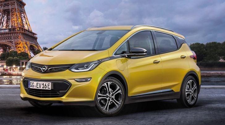 Opel Ampera-e, la nuova elettrica pronta al debutto