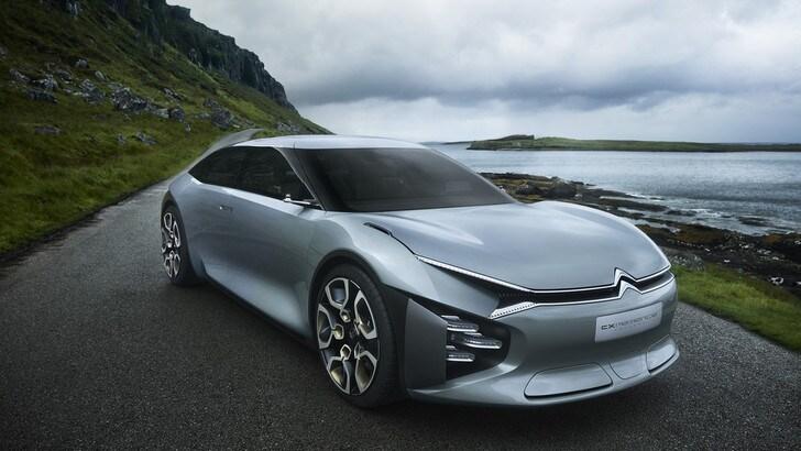 Citroen Cxperience Concept, a Parigi la C5 del futuro