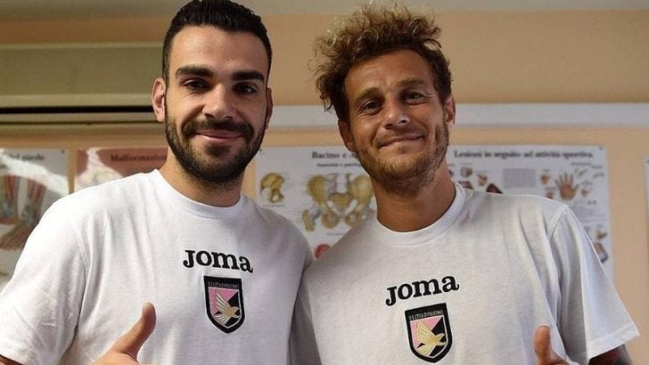 Palermo, è arrivato Diamanti: