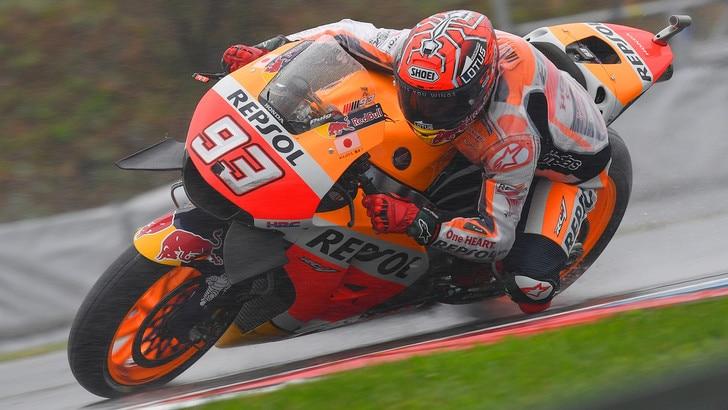 MotoGp Honda, Marquez: «Restiamo concentrati»