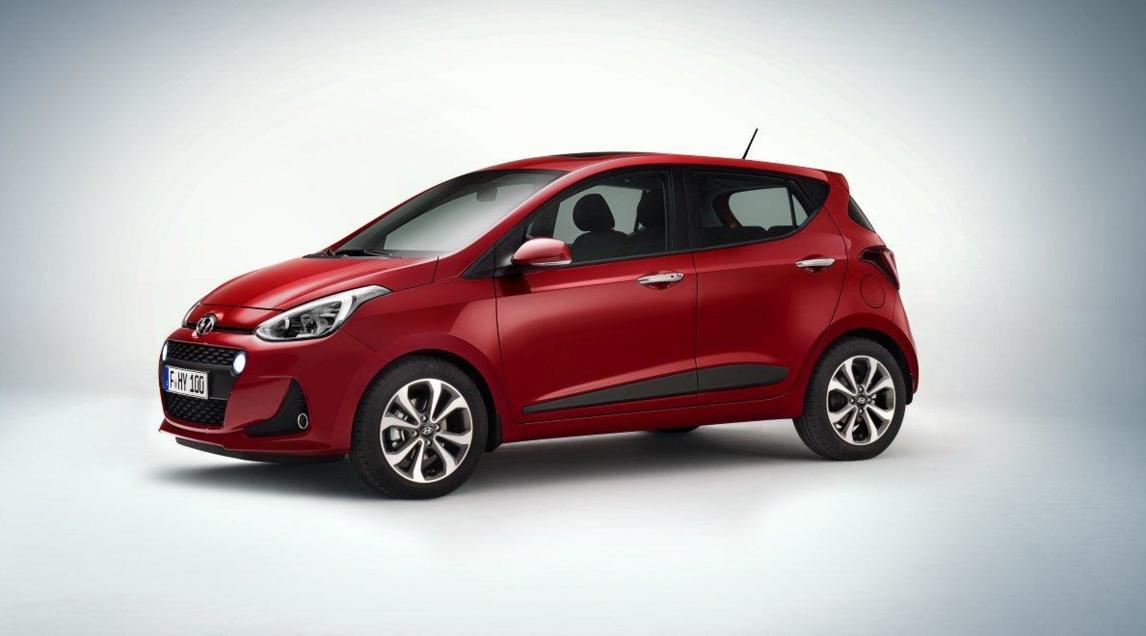 Nuova Hyundai i10, un restyling importante