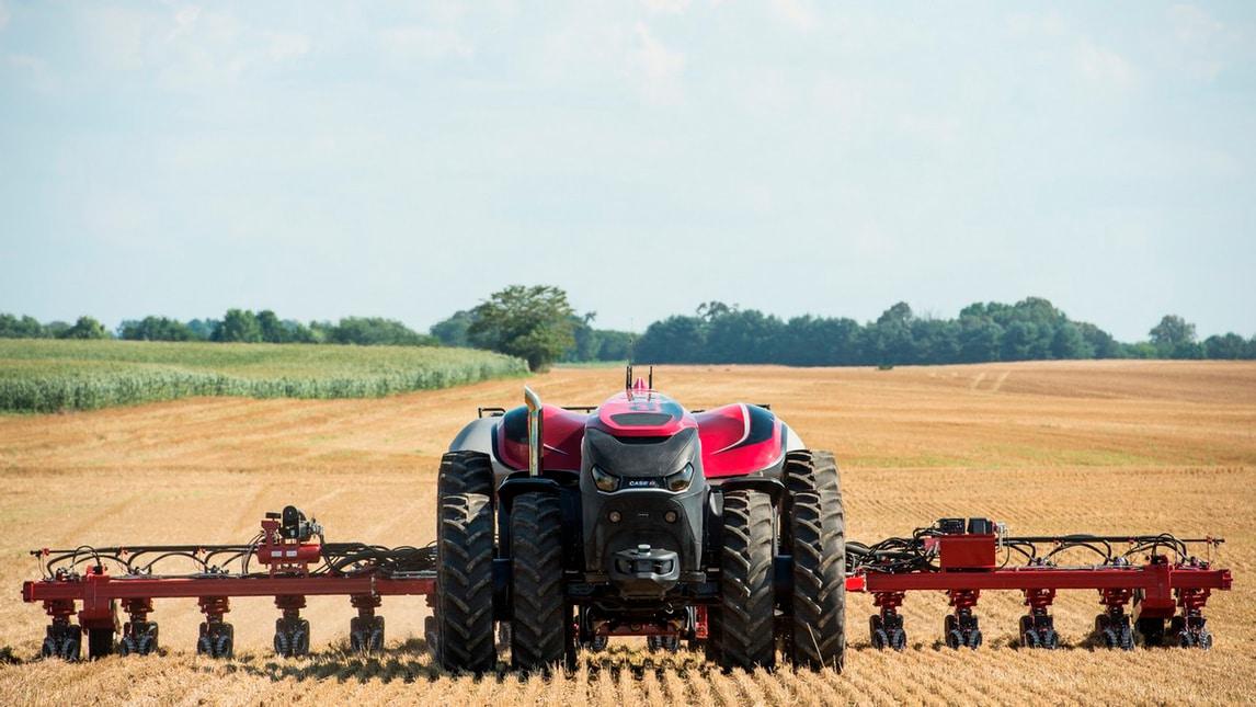 Case Magnum, il trattore a guida autonoma