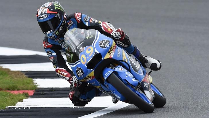 Moto3 Silverstone, Navarro domina le terze libere