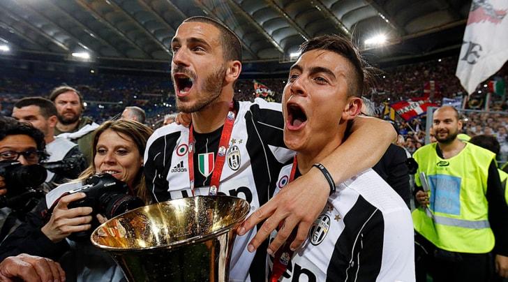 Juventus, operazione rinnovi: Bonucci e Dybala blindati
