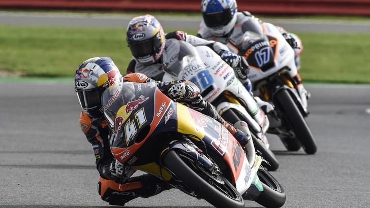 Moto3 Silverstone: vince Binder, Bagnaia secondo