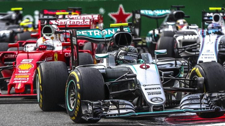F1 Gp d'Italia: Rosberg domina, Vettel terzo