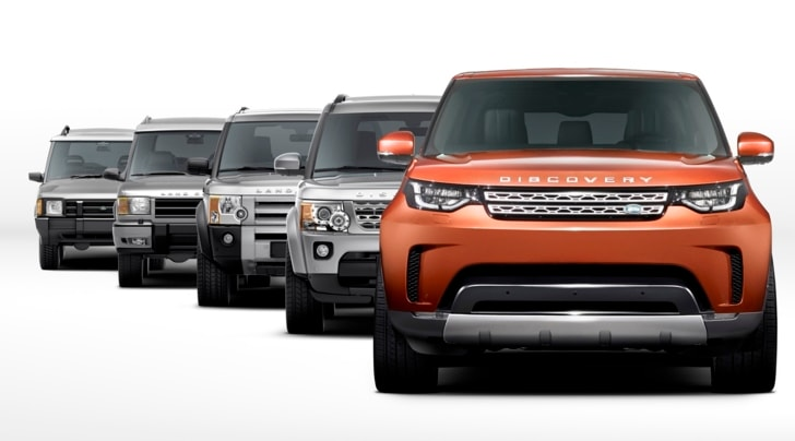 Nuova Discovery Sport, arriva la quinta generazione