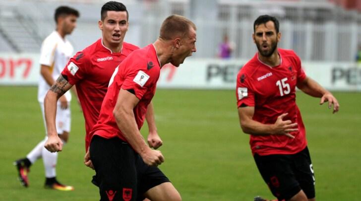 Russia 2018, Albania-Macedonia 2-1: De Biasi sorride con Balaj