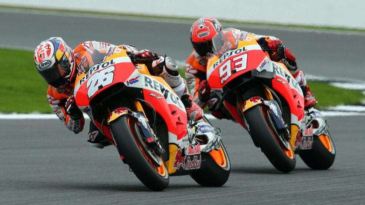 MotoGp Honda, Marquez: «Lotterò per il podio»