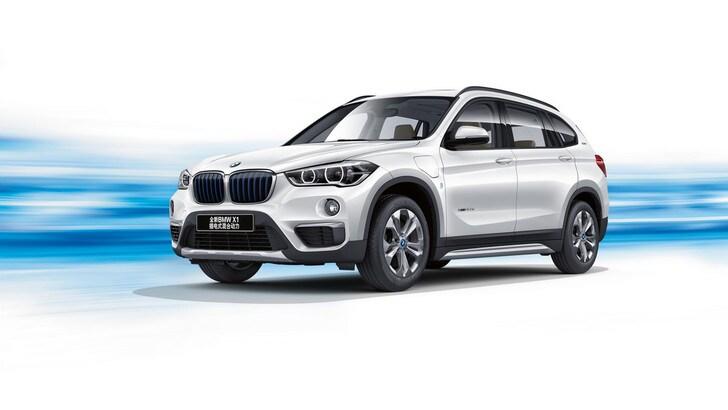 BMW X1 xDrive25Le iPerformance,ibrida e a passo lungo per la Cina