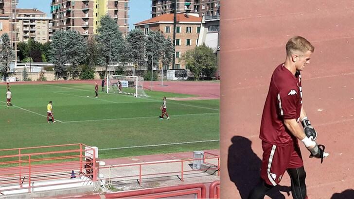 Torino, Hart subito alla prova: partitella e ovazione