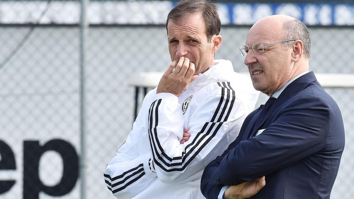 Serie A, Marotta: «Juventus, la Champions è un obiettivo non un sogno»