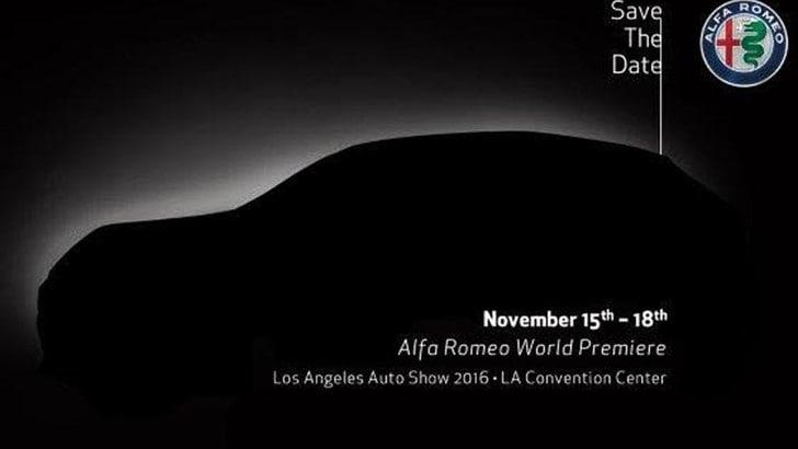 Alfa Romeo Stelvio, il SUV debutterà a Los Angeles