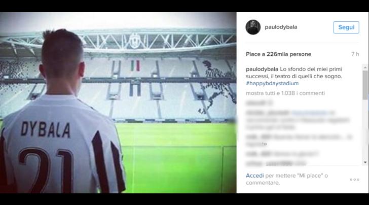 Juventus Dybala Stadium Lo Sfondo Dei Miei Primi Successi E Il