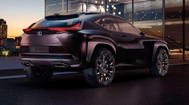 Lexus UX, concept Suv compatto al Salone di Parigi