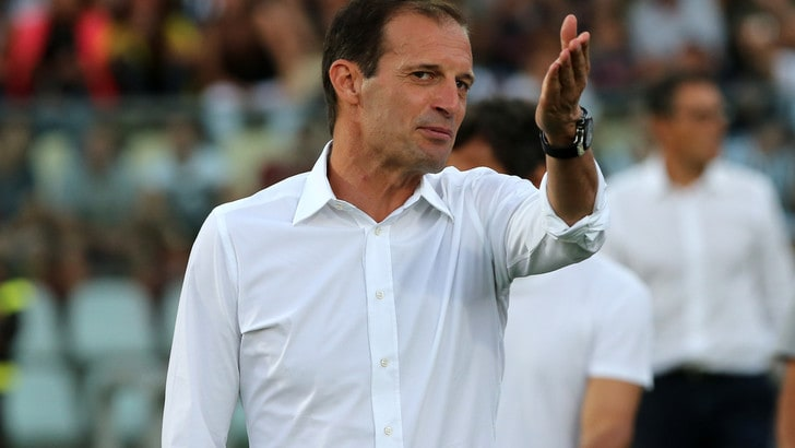 Juventus, Allegri prova la potenza del turnover