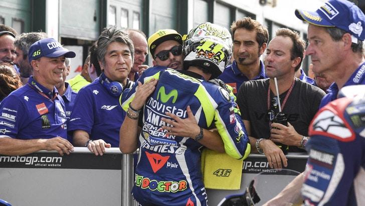 MotoGp Misano, Rossi: «Importante partire davanti»