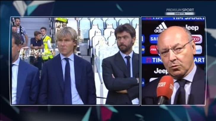 Marotta sicuro: «Paratici resta alla Juventus. Berardi? Ne riparleremo»