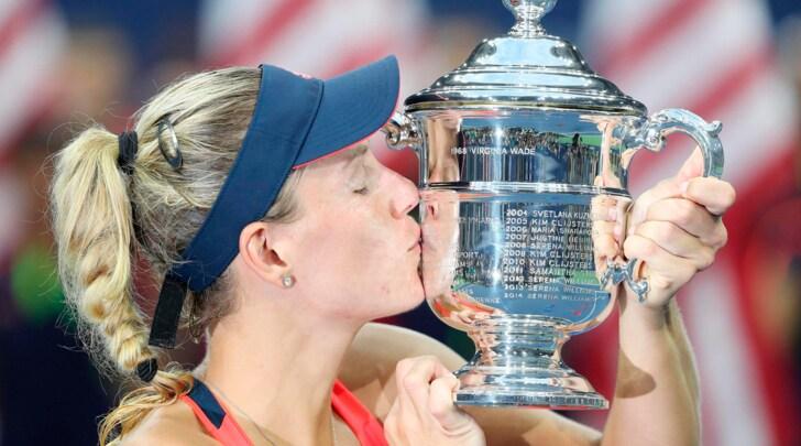 US Open: Kerber numero uno in tutto, il trionfo è suo