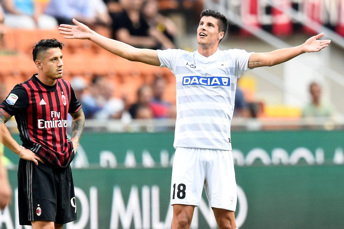 Serie A, 3ª giornata: Chievo-Lazio 1-1, Milan-Udinese 0-1 ...