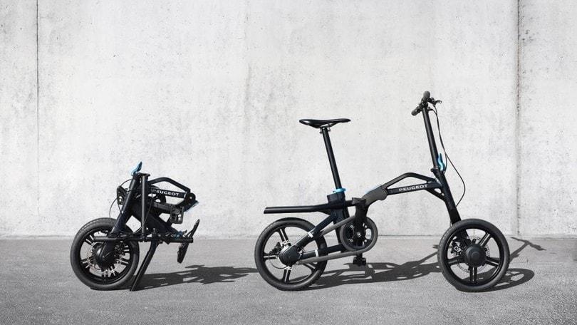 Peugeot eF01, la bici elettrica da bagagliaio