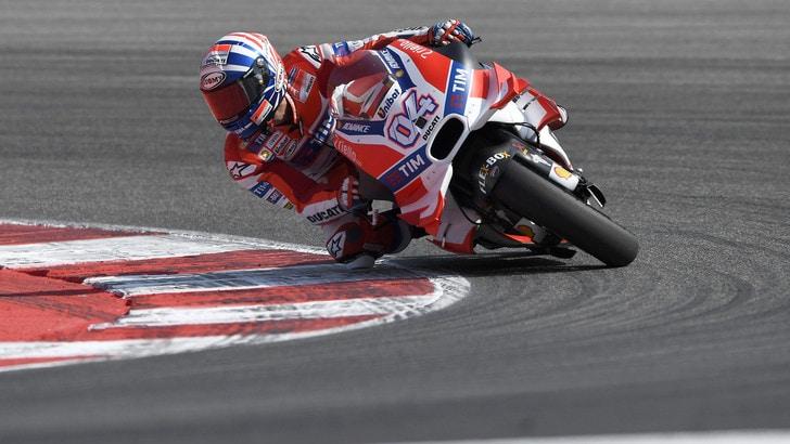 MotoGp Ducati, Dovizioso: «Facciamo fatica»