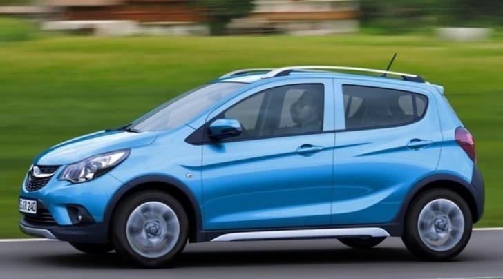 Nuova Opel Karl Rocks, mini-crossover da città