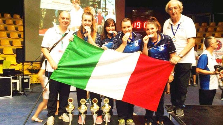 Europeo petanque, l'Italia si merita il bronzo
