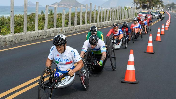 Paralimpiadi: handbike, argento Zanardi