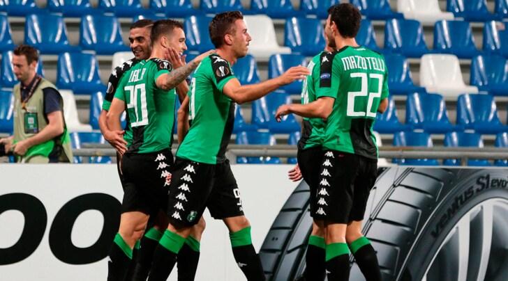 Europa League, Sassuolo-Athletic Bilbao 3-0: che show con Lirola, Defrel e Politano