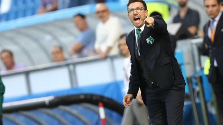 Europa League, Di Francesco: «Grande Sassuolo: che tenacia»