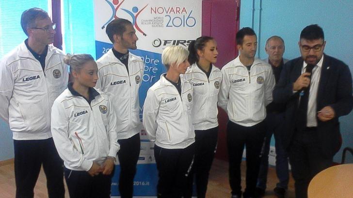 Mondiali pattinaggio rotelle a Novara