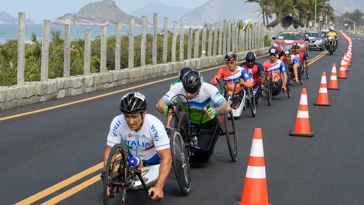 Paralimpiadi, staffetta Handbike: oro Italia con Zanardi