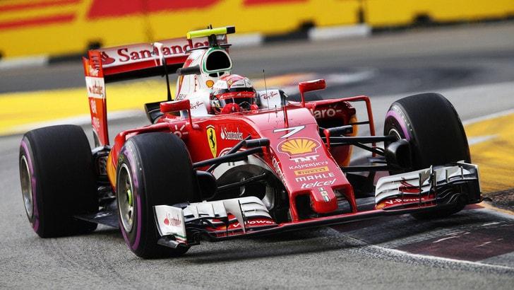 F1 Singapore, Raikkonen: «Non è andata male»
