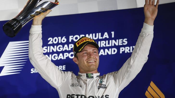 F1: gioia Rosberg, non penso al Mondiale