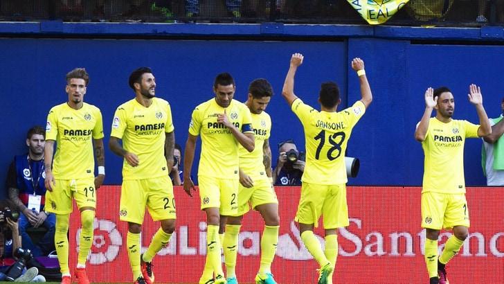 Sansone fa sognare il Villarreal: segna da 50 metri
