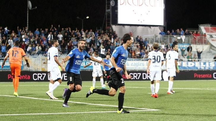 Serie B, quinta giornata: Novara-Latina 2-2, Avellino-Cittadella 0-1, Spal-Verona 1-3
