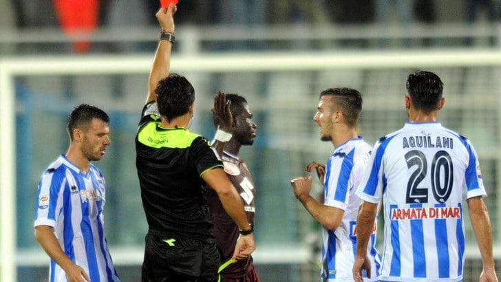 Pescara-Torino 0-0: biancazzurri sfortunati, i granata resistono in nove