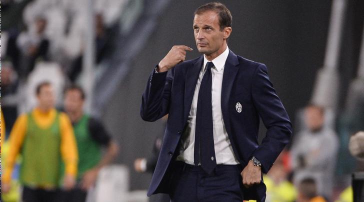 Juventus, Allegri su Twitter: «Il carattere esce nelle difficoltà, bravi a reagire»