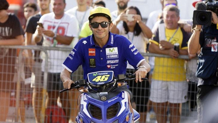 MotoGp Aragon, Rossi: «L'importante è salire sul podio»
