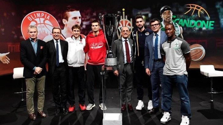 Basket Serie A, Supercoppa nel weekend a Milano