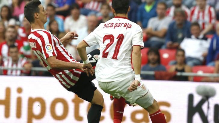 Liga, Siviglia ko contro il Bilbao: Sirigu espulso