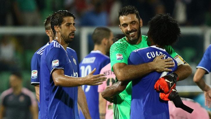 Juventus, Khedira: «Tre punti a Palermo ma che fatica!». Allegri: «Ora energie sulla Champions!»
