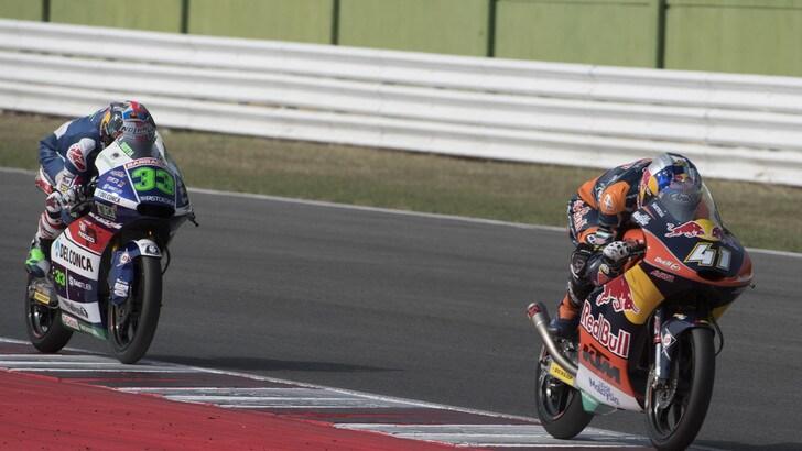 Moto3, Aragon: vittoria a Navarro, campionato a Binder
