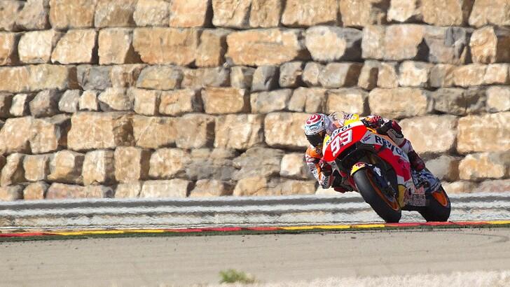MotoGp: Marquez irraggiungibile, miracolo Rossi a 9,00
