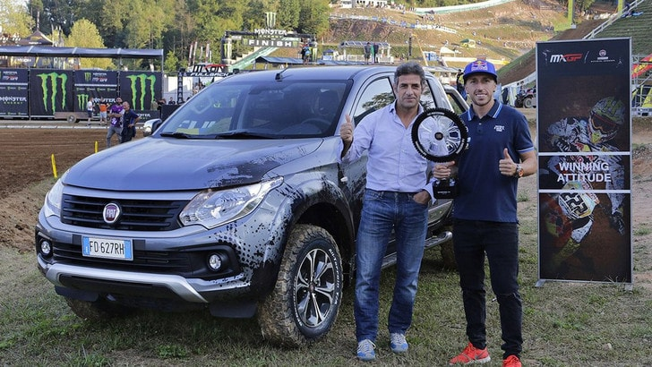 Fiat Fullback e Tony Cairoli insieme al Motocross delle Nazioni