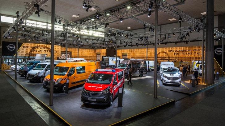 Opel al Salone di Hannover, ecco il Vivaro Sport